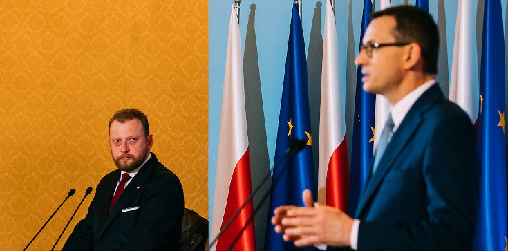Pramier Morawiecki: Ministrowi Szumowskiemu należy się największy order jaki mogę sobie wyobrazić - zdjęcie