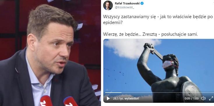Trzaskowski opublikował spot. Szykuje się do startu w wyborach? - zdjęcie