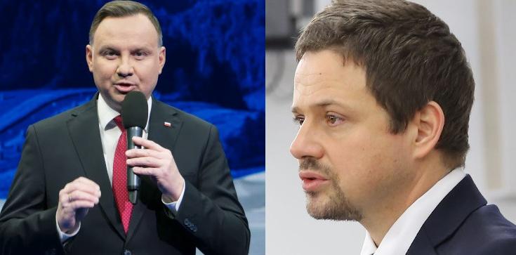 Sondaż: Andrzej Duda bezsprzecznym liderem, ale poparcie dla Trzaskowskiego rośnie - zdjęcie