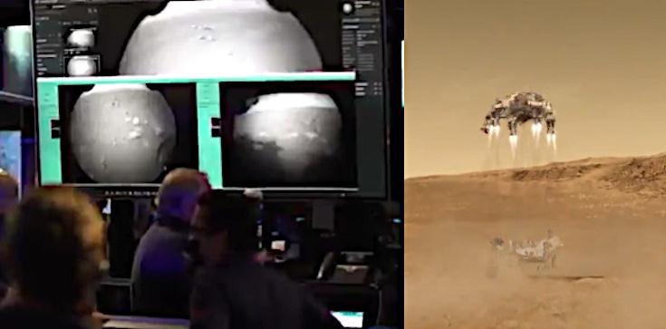 Wylądował! Perseverance już na powierzchni Marsa - zdjęcie