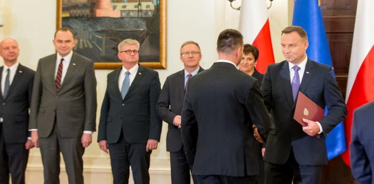 Błażej Spychalski oficjalnie rzecznikiem prezydenta - zdjęcie