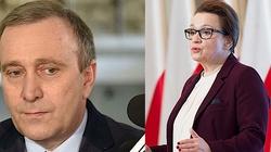 Anna Zalewska: Schetyna to tchórz! Minister zapowiada też pozwanie Barbary Nowackiej - miniaturka