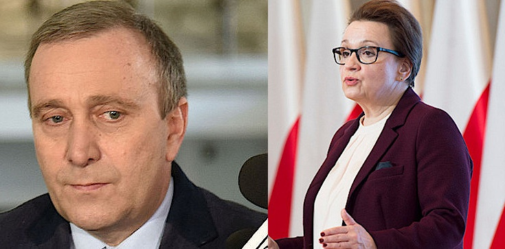 Anna Zalewska: Schetyna to tchórz! Minister zapowiada też pozwanie Barbary Nowackiej - zdjęcie
