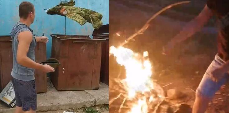 Białoruś: Żołnierze mają dosyć. Palą i wyrzucają mundury - zdjęcie