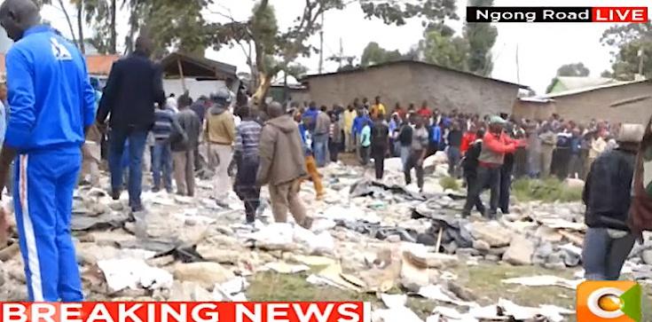 Dramat w Kenii. Strop szkoły zawalił się na uczniów. Pod gruzami może się znajdować ponad 10 osób - zdjęcie