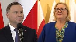 Prezydent wyjaśnia, dlaczego wybrał prof. Manowską na I Prezesa Sądu Najwyższego - miniaturka