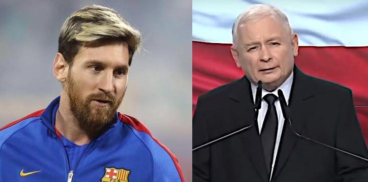 Lisowi chyba coś nie wyszło. Kaczyński jak... Messi! - zdjęcie