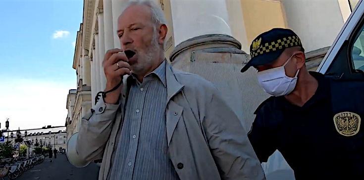 Fundacja Pro: Brutalny atak straży miejskiej na legalne zgromadzenie. Na zlecenie Trzaskowskiego? - zdjęcie