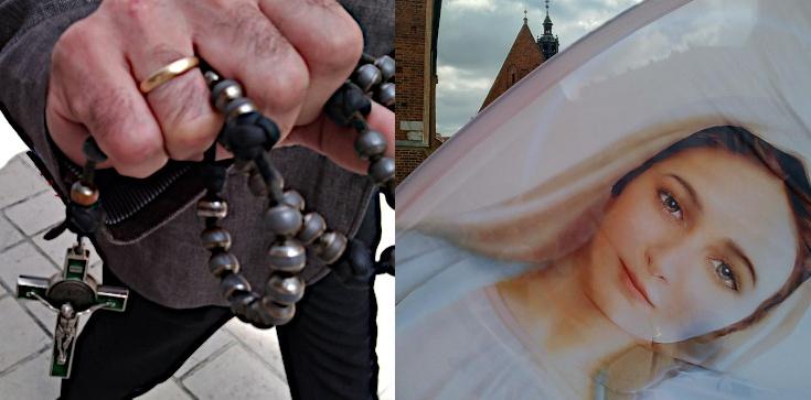 ,,Szatańskiemu złu można przeciwstawić się tylko Bożą Mocą''. Akcja modlitewna w Krakowie! - zdjęcie