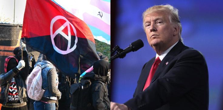 Donald Trump: USA uznają Antifę za organizację terrorystyczną - zdjęcie