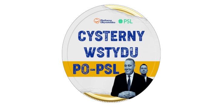 ,,Cysterny wstydu PO-PSL'' ruszyły, a opozycja... sami zobaczcie! - zdjęcie