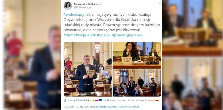 Gdańsk: Dulkiewicz i radni wspierają ,,nadzwyczajną kastę'' - zdjęcie