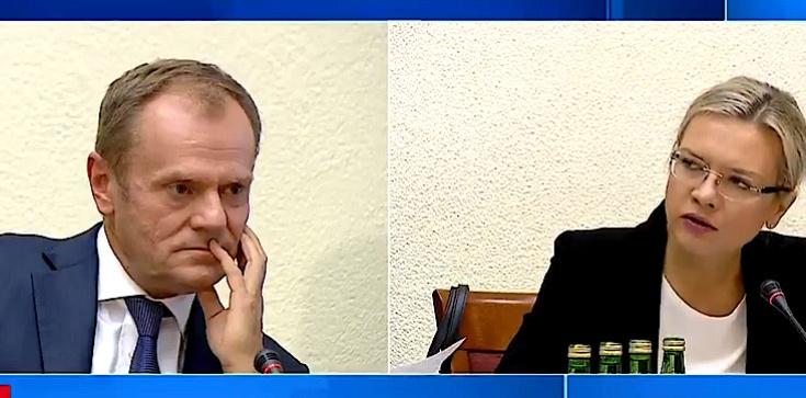 Niebywałe! Tusk przed komisją: Gdyby przyjąć waszą logikę, Morawieccy powinni zostać skazani i spaleni na stosie - zdjęcie