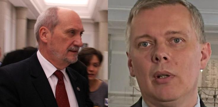 Antoni Macierewicz: Siemoniak, Mroczek i PO chcieli przehandlować bezpieczeństwo naszej ojczyzny!!! - zdjęcie