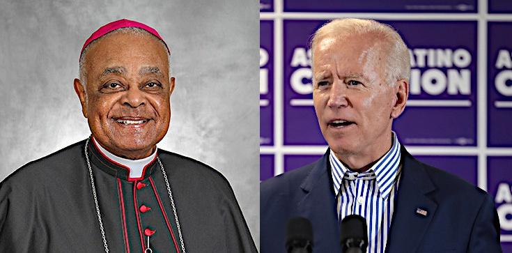 Biskup nie odmówi Komunii św. proaborcyjnemu Bidenowi - zdjęcie