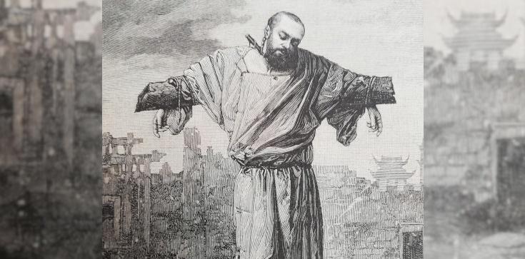 Jan Gabriel Perboyre - święty męczennik z Wuhan. Zmarł uduszony na krzyżu - zdjęcie