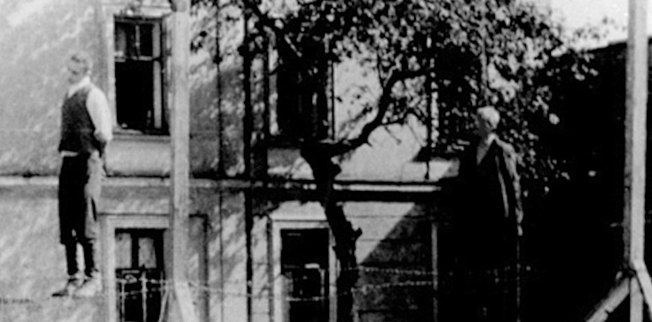 Michał Kruk - pierwszy Polak publicznie stracony za pomaganie Żydom - zdjęcie
