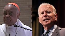 Proaborcyjny Biden i abp Waszyngtonu wspólnie na uroczystości. ,,To utrwali postrzeganie, że Kościół go aprobuje'' - miniaturka