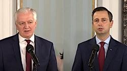 ,,Nasi partnerzy z Koalicji Polskiej''. W co gra Gowin? - miniaturka