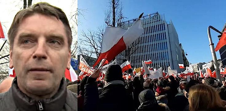 On tak serio? Lis o manifestacji w obronie reformy sądów: Byłem, widziałem, kilkaset osób [ZOBACZ] - zdjęcie