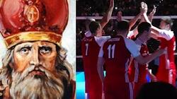 Święty Hubercie, pokornie prosimy, wspieraj dziś polskich siatkarzy! - miniaturka