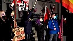 Co za dzicz! Liderka ,,Strajku Kobiet'' w Szczecinie o Godek: Ty szmato, wypier***j k***o! - miniaturka