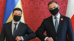 Prezydent Ukrainy: Chciałbym podziękować Polsce - miniaturka