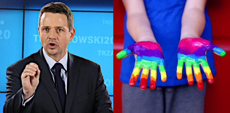 TYLKO U NAS! Grzegorz Strzemecki: Rafał Trzaskowski = molestująca seksualnie ,,edukacja'' w całej Polsce - zdjęcie