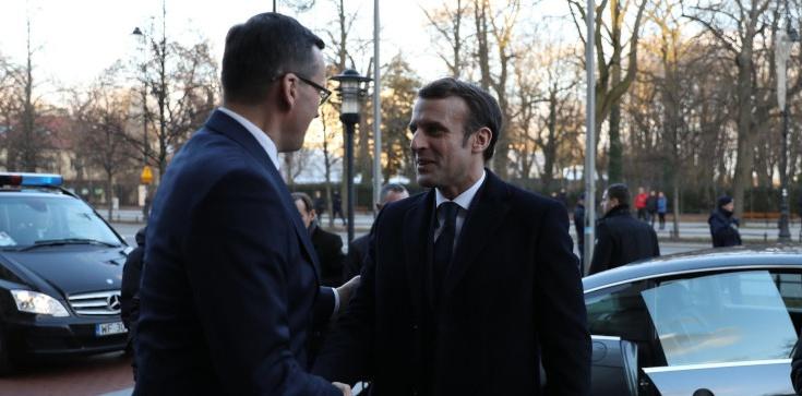 Premier Morawiecki o wizycie Macrona: Przełomowa - zdjęcie