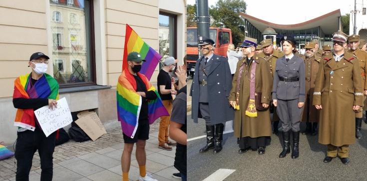 Jan Bodakowski: Geje i antyPiS zakłócali Katyński Marsz Cieni [ZOBACZ] - zdjęcie