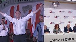 PILNE!!! Dane PKW z 99,98 proc. obwodów: 51,12 proc. głosów na Andrzeja Dudę - miniaturka