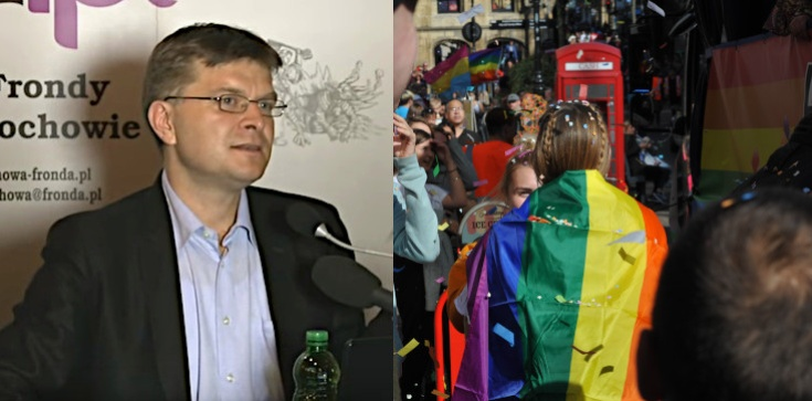 TYKO U NAS! Grzegorz Górny: Polacy nie chcą tęczowej rewolucji - zdjęcie