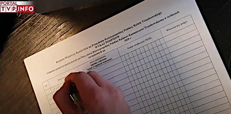 Podpisy dla Trzaskowskiego. PiS zawiadomi prokuraturę - zdjęcie