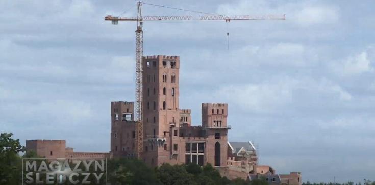 Kto sfinansował budowę ogromnego zamku w Puszczy Noteckiej? Magazyn Śledczy Anity Gargas - zdjęcie
