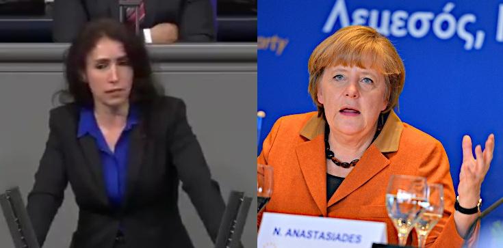 Europosłanka AfD ostro do Merkel: Zamieniła Pani Berlin w Bagdad! - zdjęcie