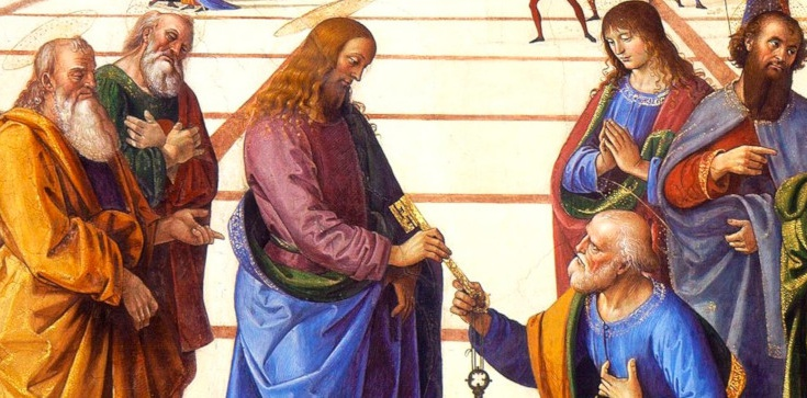 ,,Na tej opoce zbuduję Kościół mój, a bramy piekielne go nie przemogą'' - zdjęcie