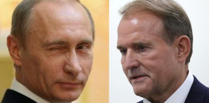 V kolumna Kremla na Ukrainie: Medwedczuk i Kozak mieli przekazać Rosjanom tajne dane - zdjęcie