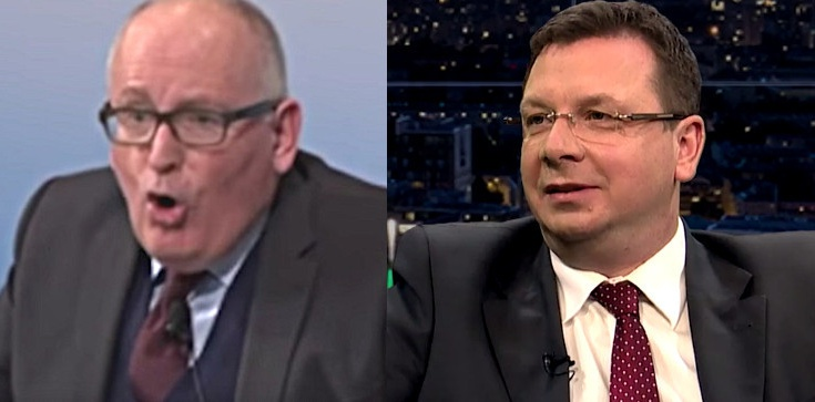 Wiceszef MSZ: Timmermans jest po prostu polonofobem! - zdjęcie