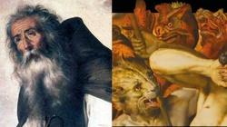 Diabeł zmienił się w stado wściekłych zwierząt, ale nie dał rady! Duchowa walka św. Antoniego - miniaturka