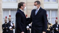 Francja: Premier Morawiecki spotkał się z Emmanuelem Macronem - miniaturka