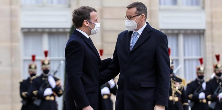 Francja: Premier Morawiecki spotkał się z Emmanuelem Macronem - zdjęcie