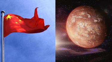 Chińczycy podbijają kosmos. Po raz pierwszy ich sonda wylądowała na Marsie - miniaturka