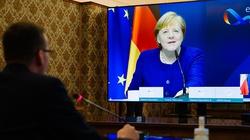 Rozmowa Morawiecki-Merkel. Premier: Potwierdziłem gotowość zawetowania budżetu - miniaturka