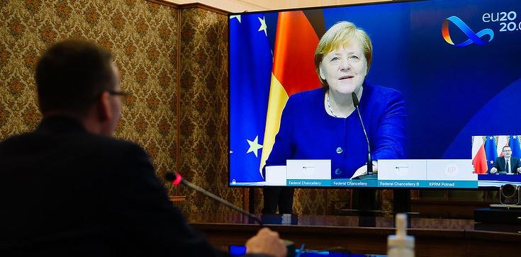 Rozmowa Morawiecki-Merkel. Premier: Potwierdziłem gotowość zawetowania budżetu - zdjęcie