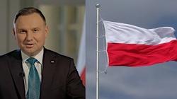 Prezydent apeluje: Wywieśmy biało-czerwone Flagi! Bądźmy dumni, że jesteśmy Polakami! - miniaturka
