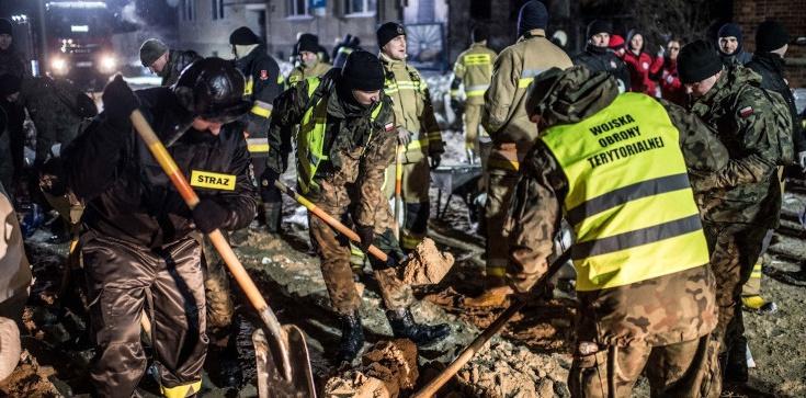 Podtopienia w Płocku. Terytorialsi: Nie zostawimy nikogo bez pomocy! - zdjęcie