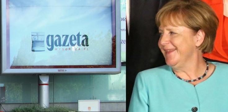 ,,Nauczyli nas pisać i czytać''. ,,Wyborcza'' na kolanach przed Niemcami - zdjęcie