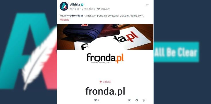 Portal Poświęcony Fronda.pl także na Albicla.com. Zachęcamy do obserwowania! - zdjęcie