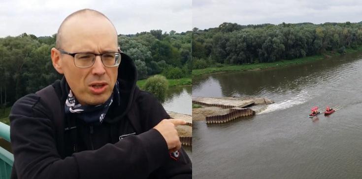 Bodakowski: Ścieki w Wiśle. Greenpeace robi sesję w szambie. Ani słowa o Trzaskowskim, ale atakują PiS - zdjęcie