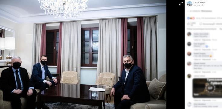 Orban zamieścił zdjęcie z Kaczyńskim, internauci drwią. ,,Zleciało się lewactwo, nie ma kto na GW komentować'' - zdjęcie